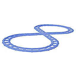 Kid Motorz Additional Figure 8 Talking Train Track in Blue