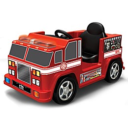 Kid Motorz Fire Engine 1-Seater 6-Volt Ride-On in Red