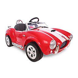 Kid Motorz Shelby Cobra 427S/C 1-Seater 12-Volt Ride-On in Red