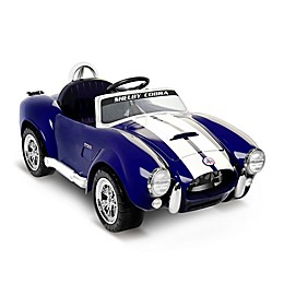 Kid Motorz Shelby Cobra 427S/C 1-Seater 6-Volt Ride-On in Blue