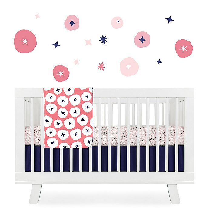Alternate image 1 for Babyletto In Bloom Crib Bedding Collection