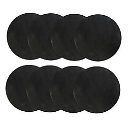 Charcoal Companion® Burger FLEX Grill Sheets™ in Black (Set of 8)