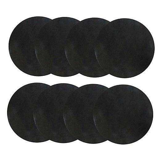 Alternate image 1 for Charcoal Companion® Burger FLEX Grill Sheets™ in Black (Set of 8)