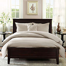 Harbor House™ Linen Reversible Duvet Cover Set in Linen