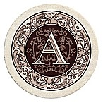 Monogram Letter  A  Coasters (Set of 4)
