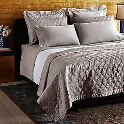 Frette at Home Orpheum Coverlet in Stone