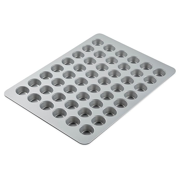 Alternate image 1 for Wilton® Bake More Nonstick 48-Cup Mini Muffin Pan