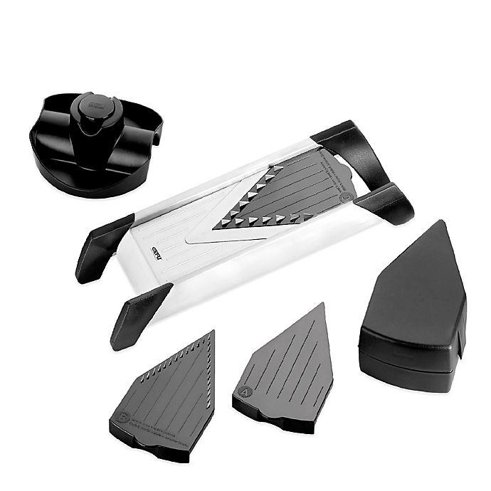 Alternate image 1 for GEFU V-Blade 4-Piece Stainless Steel Mandoline Slicer