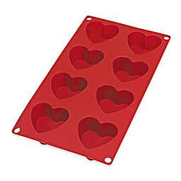 Lékué 8-Cavity Silicone Heart Mold