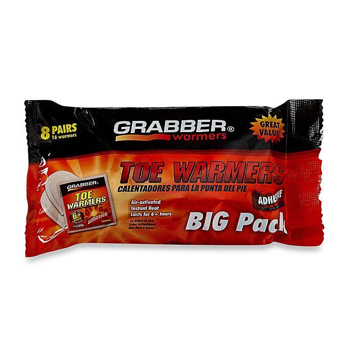 Alternate image 1 for Grabber 8-Pack Toe Warmers