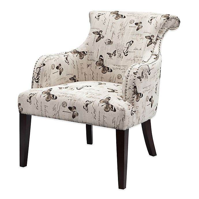 Alternate image 1 for Madison Park Alexis Rollback Accent Chair in Cream/Multi