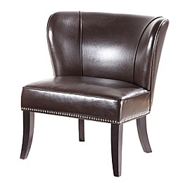 Madison Park Hilton Concave Back Armless Chair