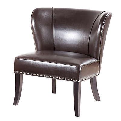 Madison Park Hilton Concave Back Armless Chair
