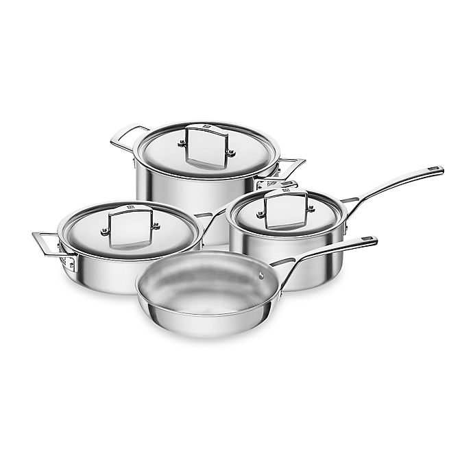 Alternate image 1 for Zwilling J.A. Henckels Aurora 7-Piece Cookware Set
