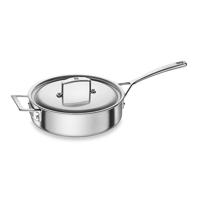 Alternate image 1 for Zwilling J.A. Henckels Aurora 3 qt. Covered Sauté Pan with Helper Handle