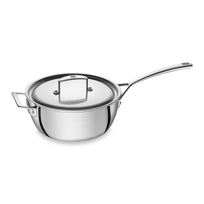 Alternate image 1 for Zwilling J.A. Henckels Aurora 3.5 qt. Covered Saucier Pan with Helper Handle