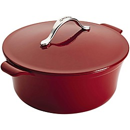 Anolon® Vesta Cast Iron Covered Casserole in Red