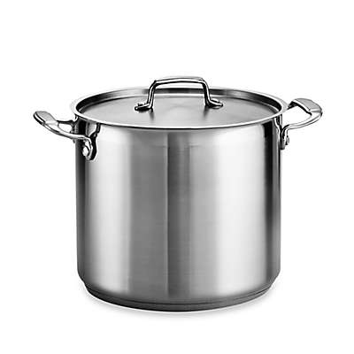 Tramontina® Gourmet Stainless Steel Covered Stock Pot