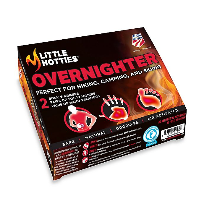 Little Hotties Overnighter Hand And Body Warmers Bed