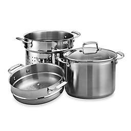 Tramontina® Gourmet 4-Piece 8-Quart Multi Cooker Set
