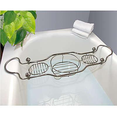 Taymor® Imperial Bathtub Caddy with Antique Nickel Finish