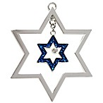 Harvey Lewis™ Star of David Hanukkah Ornament Made with Swarovski® Elements