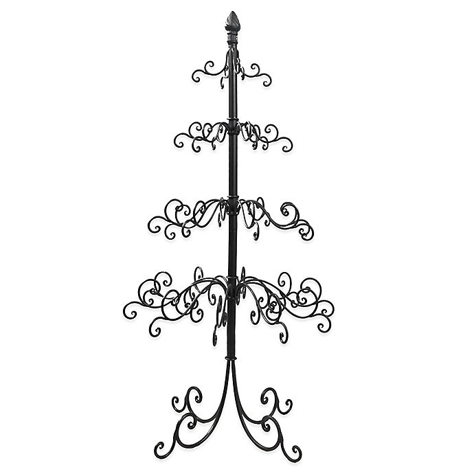 Metal Tabletop Christmas Tree: Metal Wire Ornament Tree