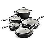 Tramontina® Gourmet Ceramica Deluxe 10-Piece Cookware Set in Black