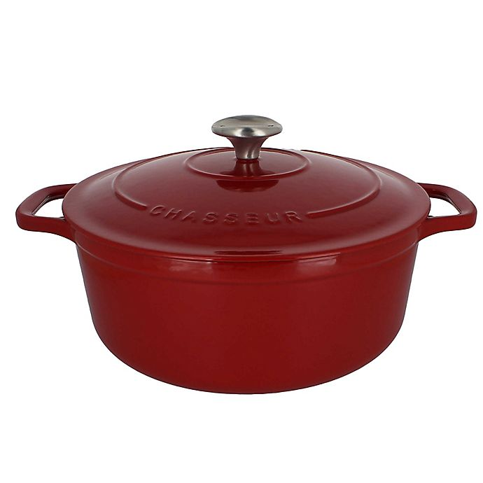 Alternate image 1 for Chasseur® 3.25-Quart Cast Iron Round Casserole