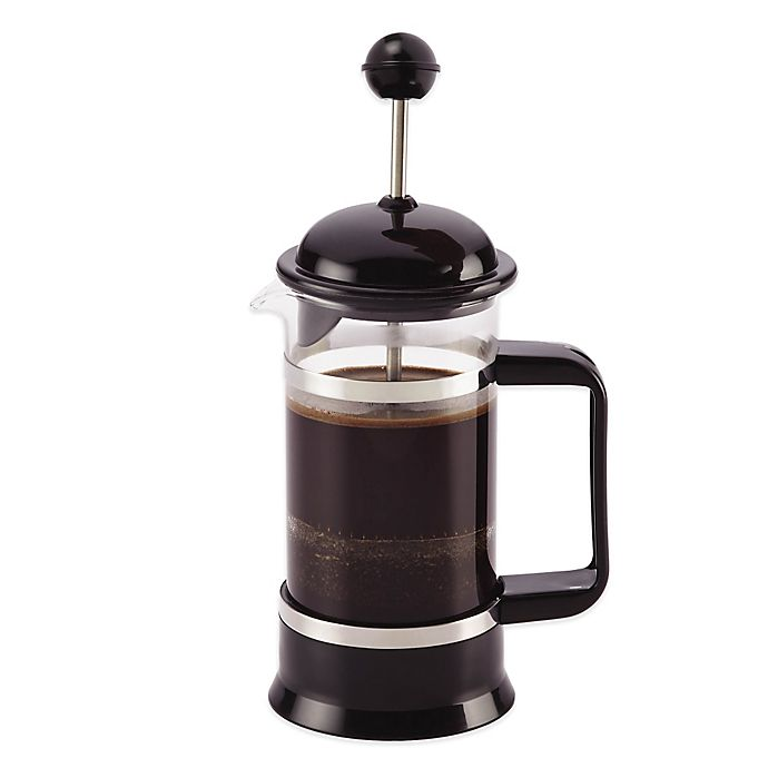 Alternate image 1 for BonJour® 3-Cup La Petite French Press and Frother Set in Black