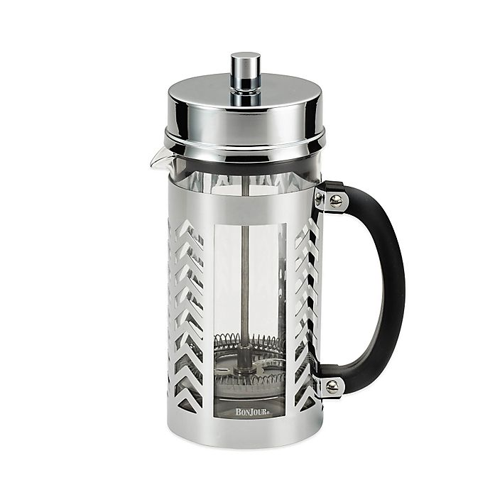 Alternate image 1 for Bonjour® 8-Cup Maximus French Press in Chevron