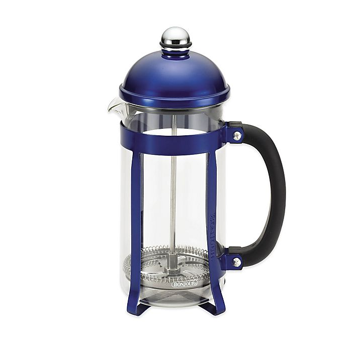 Alternate image 1 for Bonjour® 8-Cup Maximus French Press in Blue