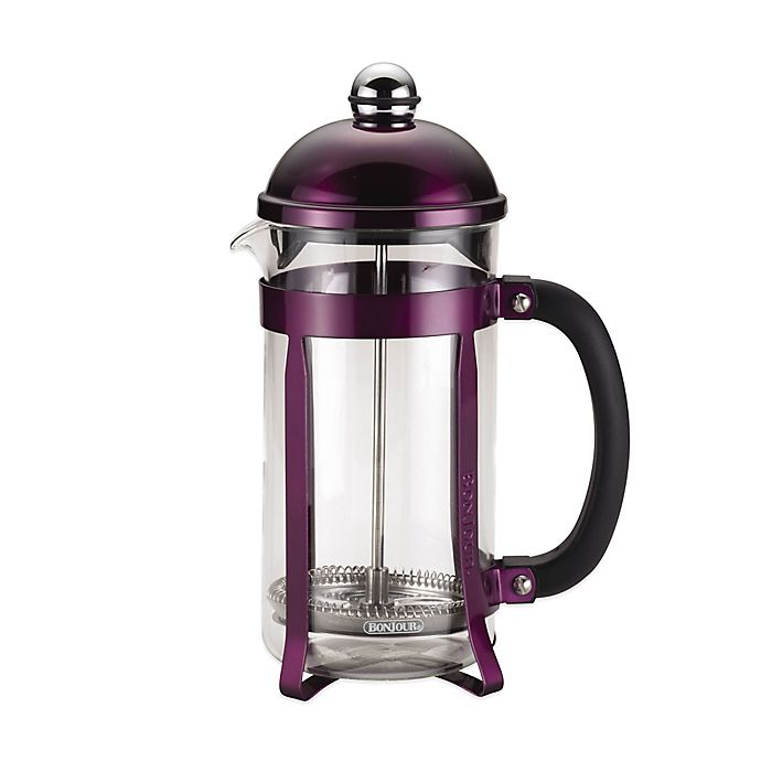 Alternate image 1 for Bonjour® 8-Cup Maximus French Press in Purple