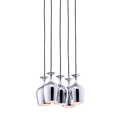 Zuo® Pure Ice 5-Light Ceiling Lamp