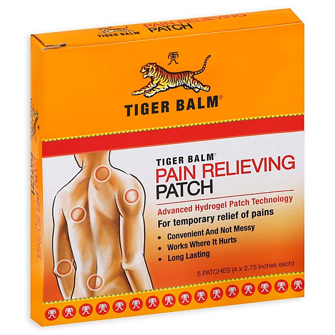 Alternate image 1 for Tiger Balm 5-Count Patch
