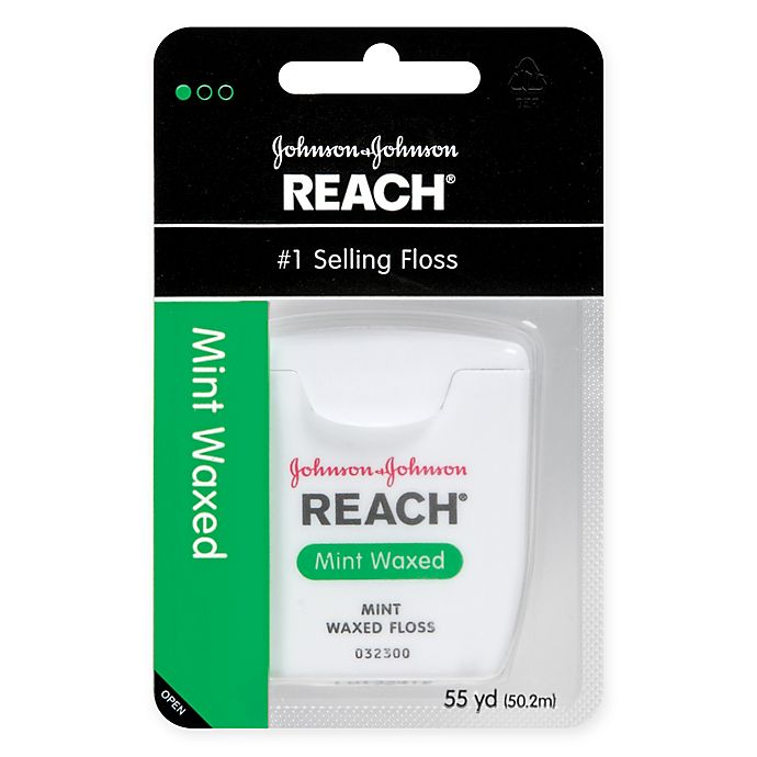 Alternate image 1 for Reach Floss Wax 55 Yards Mint