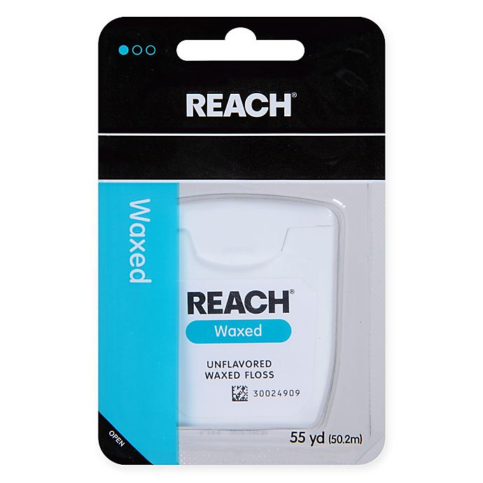 Alternate image 1 for Johnson + Johnson REACH® 55 yd. Unflavored Waxed Floss