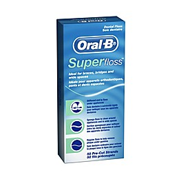 Oral-B® Super Floss 50 Pre-Cut Strands in Mint Flavor