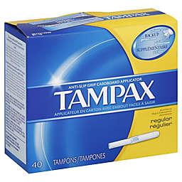 Tampax 40-Count Original Regular Tampons
