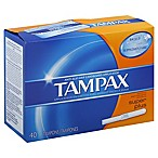 Tampax 40-Count Super Plus Tampons