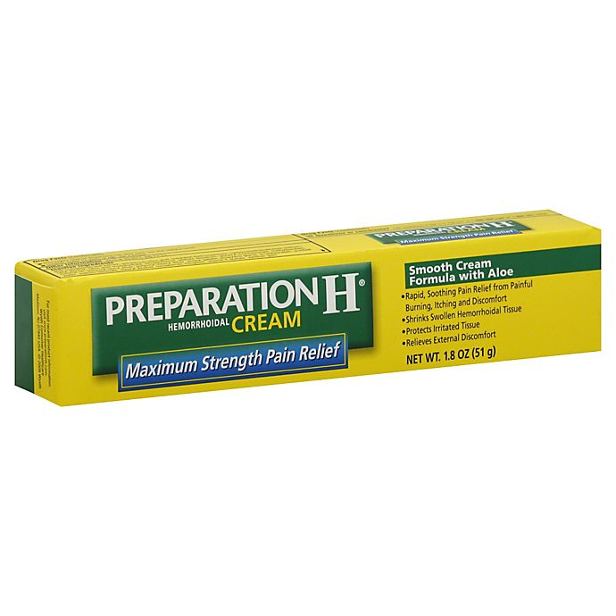 Alternate image 1 for Preparation H® Smooth Cream Formula with Aloe 1.8 oz. Hemorrhoidal Cream