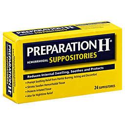 Preparation H® 24-Count Hemorrhoidal Suppositories