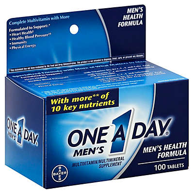 One A Day® 100-Count Men's Multivitamin/Multimineral Tablets