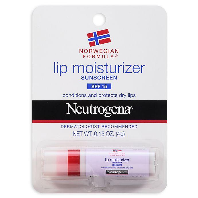 Alternate image 1 for Neutrogena® Norwegian Formula® .15 oz. Lip Moisturizer with SPF 15