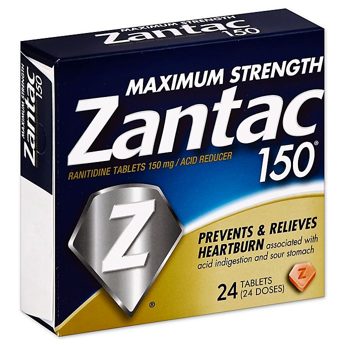 Alternate image 1 for Zantac 150® Maximum Strength 24-Count Acid Reducer Tablets