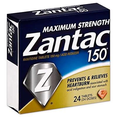 Zantac 150® Maximum Strength 24-Count Acid Reducer Tablets