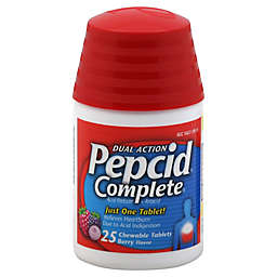 Pepcid® Complete® 25-Count Chewable Tablets in Berry