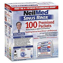 NeilMed® Sinus Rinse™ Saline Nasal Irrigation 100-Count Premixed Packets