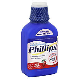 Phillips' Milk Of Magnesia 26 oz. Saline Laxative in Wild Cherry Flavor