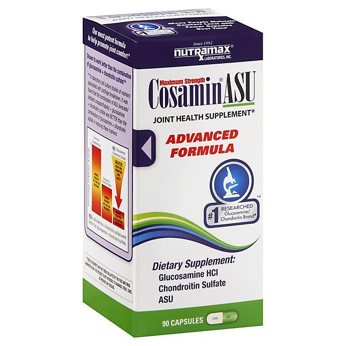Alternate image 1 for Cosamin ASU Advanced Formula 90-Count Glucosamine Supplement Capsules